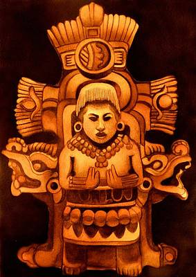 Painting - Pre Columbian Series by Susan Santiago