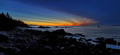 Photograph - Pre Dawn At Quoddy Head State Park by Marty Saccone