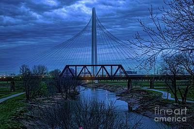 Photograph - Pre Dawn Dallas by Diana Mary Sharpton