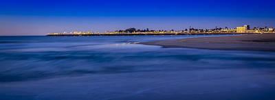 Santa Cruz Wharf Photograph - Pre Dawn In Santa Cruz by Steve Spiliotopoulos