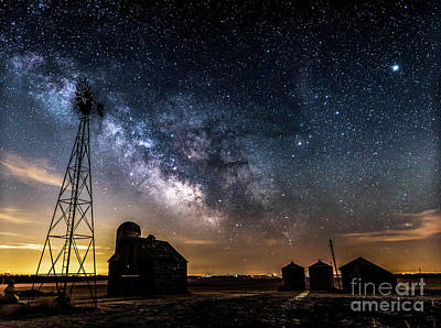 Photograph - Pre Dawn Milky Way by Willard Sharp