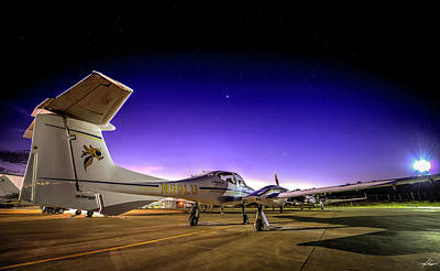 Photograph - Pre-dawn On The Ramp by Philip Rispin