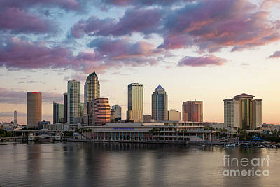 Photograph - Pre-dawn Over Tamp Florida by Brian Jannsen