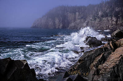 Gullivers Hole Photograph - Pre Irene Surge by Marty Saccone
