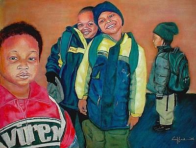 Pre-school Pre-you Art Print by G Cuffia