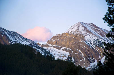 Mountain Photograph - Pre Sunset Wyoming by Terry Anderson