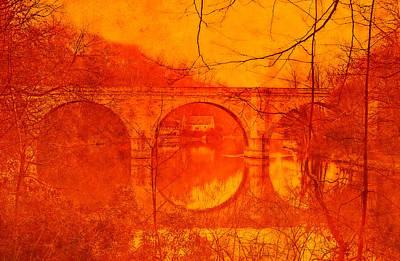 Prebends Bridge Durham City Art Print