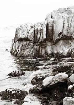 Photograph - Precarious At Pebble Beach by Marilyn Hunt