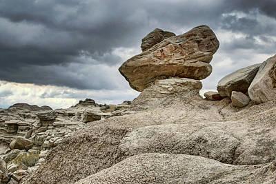 Photograph - Precarious - Toadstool Geologic Park by Nikolyn McDonald
