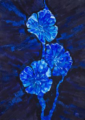 Precious Flowers Original by Irina Effa