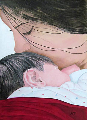 Painting - Precious Gift by Gloria E Barreto-Rodriguez