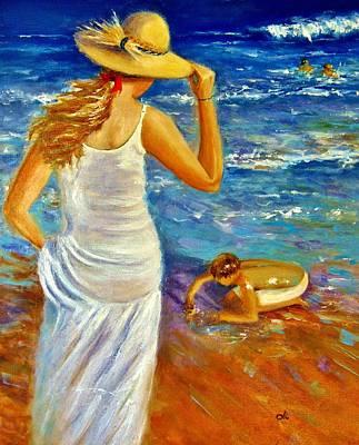 Painting - Precious Memories  by Cristina Mihailescu