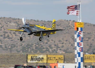 Photograph - Precious Metal At Reno Air Races 2014 by John King