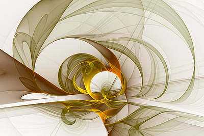 Digital Art - Precious Metals 2 by Gabiw Art