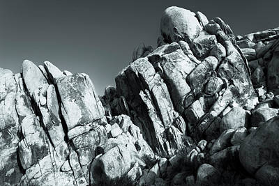 Photograph - Precious Moment - Juxtaposed Rocks Joshua Tree National Park by Amyn Nasser