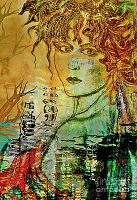 Mixed Media - Precious Moments by Jolanta Anna Karolska