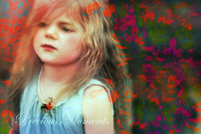 Bold Digital Art - Precious Moments Of Innocence by Georgiana Romanovna