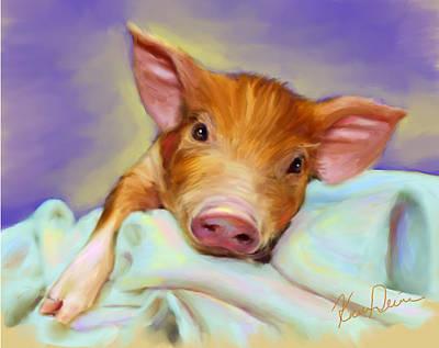 Precious Piggy Art Print