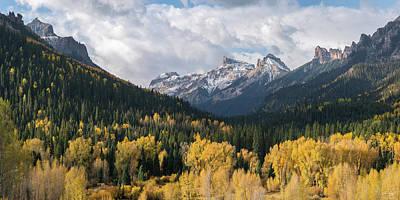 Photograph - Precipice Vista by Aaron Spong