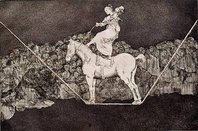 Precise Folly Art Print by Francisco Goya