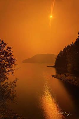 Photograph - Preclipse 8.17 by Dan McGeorge