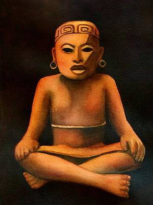 Painting - Precolumbian Series #1 by Susan Santiago