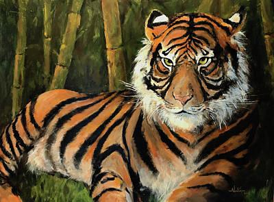 Painting - Predator by Alan Lakin