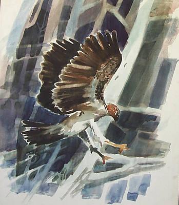 Painting - Predator by Thomas Tribby