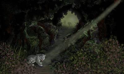 Predator Art Print by Tony Rodriguez