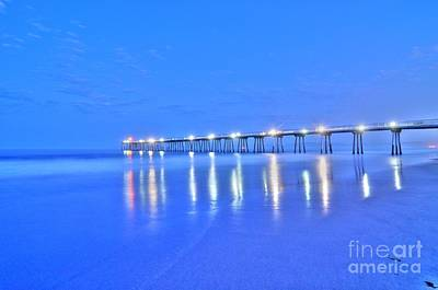 Photograph - Predawn Blue by Richard Omura