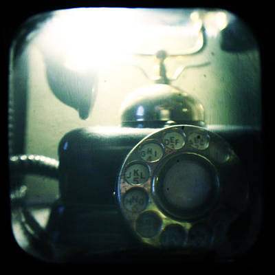 Antique Telephone Photograph - Predecessor by Andrew Paranavitana