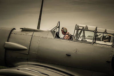 Photograph - Preflight by Guy Whiteley