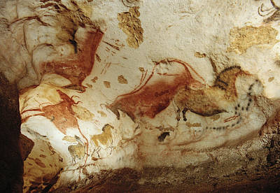 Mural Photograph - Prehistoric Artists Painted Robust by Sisse Brimberg