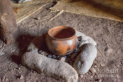 Art Print featuring the photograph Prehistoric Cooking  by Patricia Hofmeester