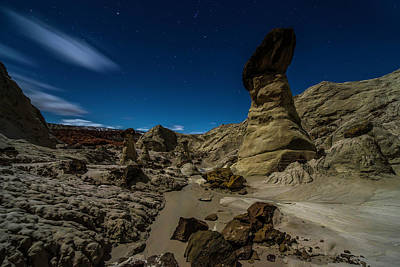 Hoodoo Photograph - Prehistoric Formations 2 by Larry Marshall
