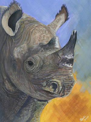 Prehistoric Present Original by Barbi  Holzmann