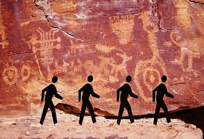 Prehistoric Rock The Beatles Abbey Road Art Print