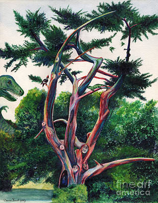 Painting - Prehistoric Tree by Deanna Yildiz