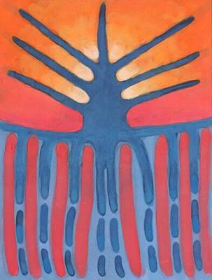 Painting - Prehistoric Tree by Wojtek Kowalski