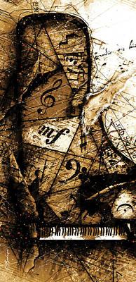 Digital Art - Preludio 01 by Gary Bodnar