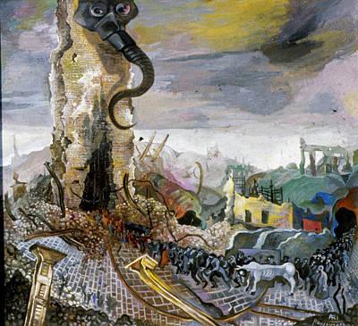 Roussimoff Wall Art - Painting - Premonition by Ari Roussimoff