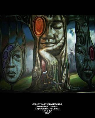 Premonition Disaster Original by Cesar Delgado