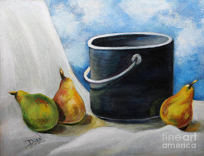 Painting - Preparation by Dian Paura-Chellis