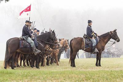 Photograph - Preparing For Battle by Alan Raasch