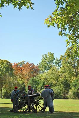 Photograph - Preparing For Battle - Prairie Grove Battlefield - Arkansas by Gregory Ballos