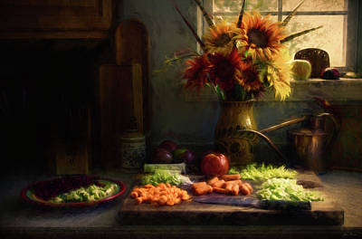 Photograph - Preparing For Soup by John Rivera