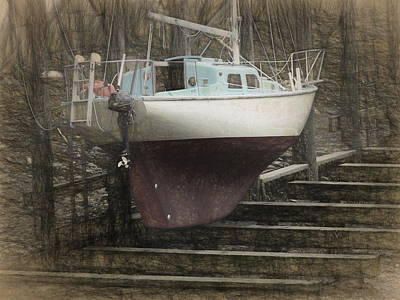Photograph - Preparing To Sail by Susan Stephenson