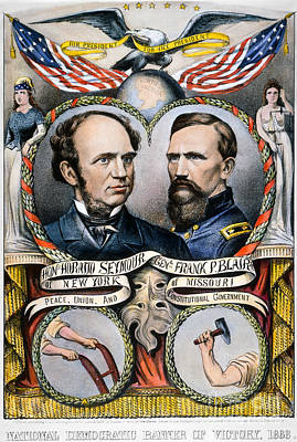 Painting - Pres. Campaign: 1868 by Granger