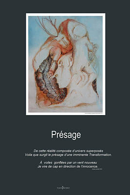 Mixed Media - Presage by Nicole Lemelin