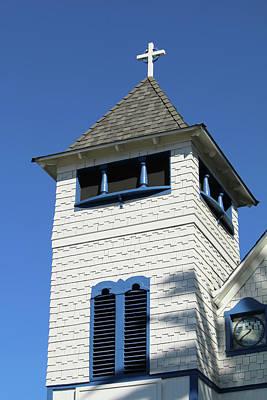 Summerland Photograph - Presbyterian Church - Summerland by Art Block Collections